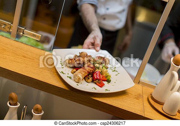 restaurang - csp24306217