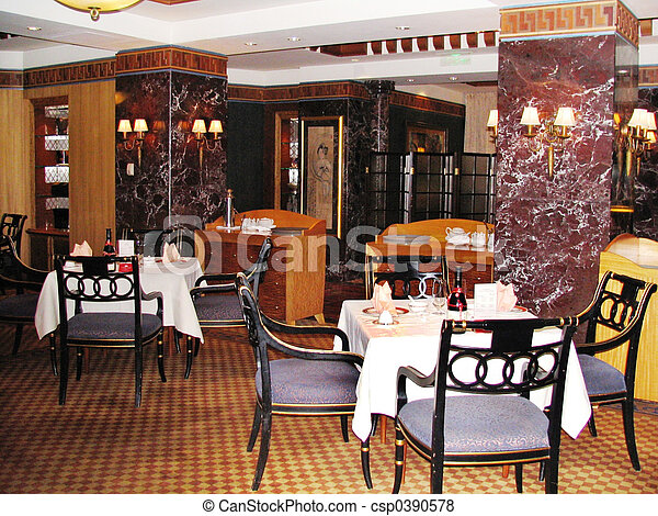 restaurang - csp0390578