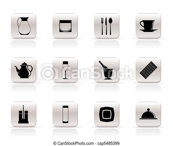 restaurant, cafe, bar, night club - csp5485399