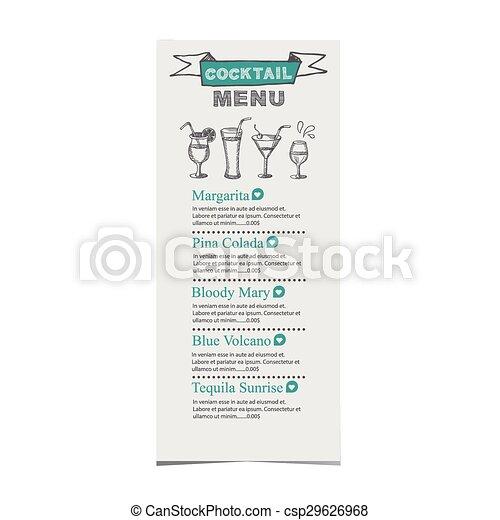 restaurant cafe menu template design food flyer restaurant cafe