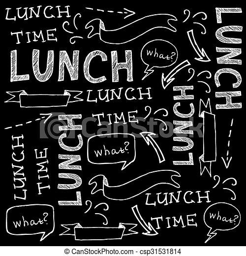 Restaurant cafe menu, template design. Vector illustration. - csp31531814