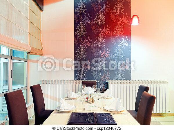 Restaurant interior  - csp12046772