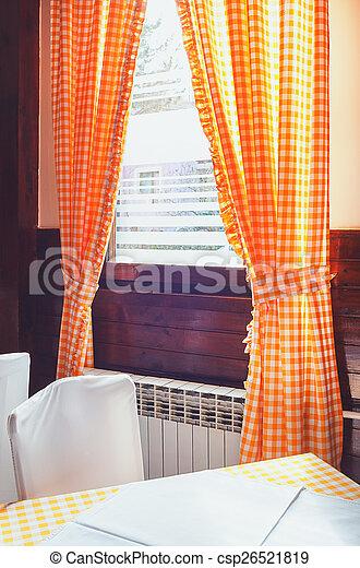 Restaurant Interior  - csp26521819