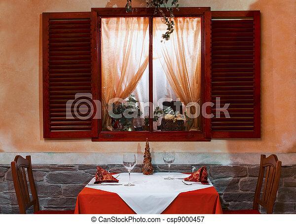 Restaurant interior  - csp9000457
