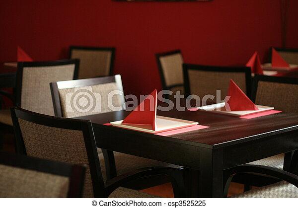 Restaurant interior - csp3525225