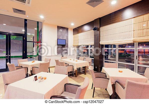 Restaurant interior  - csp12047027