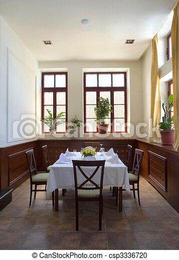 Restaurant interior - csp3336720