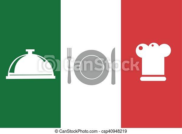 Restaurant menu design - csp40948219