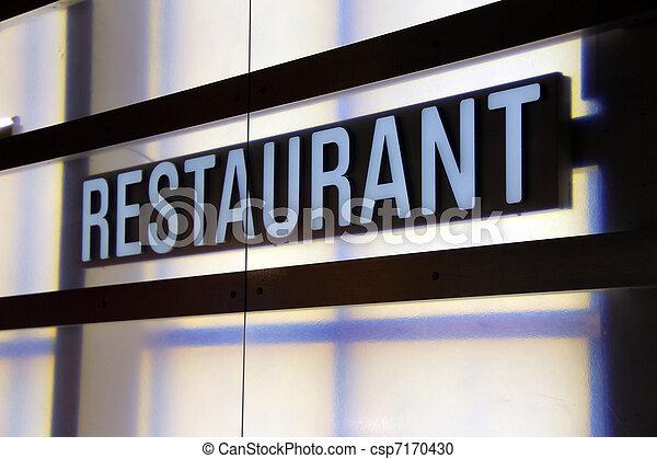 restaurante - csp7170430