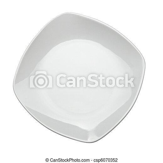 Comida de restaurantes vacías - csp6070352