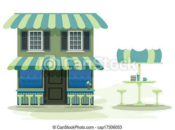 Restaurante - csp17306053