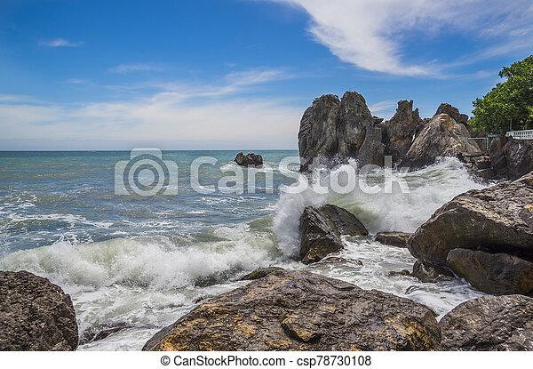 Restless Black Sea, Crimea - csp78730108