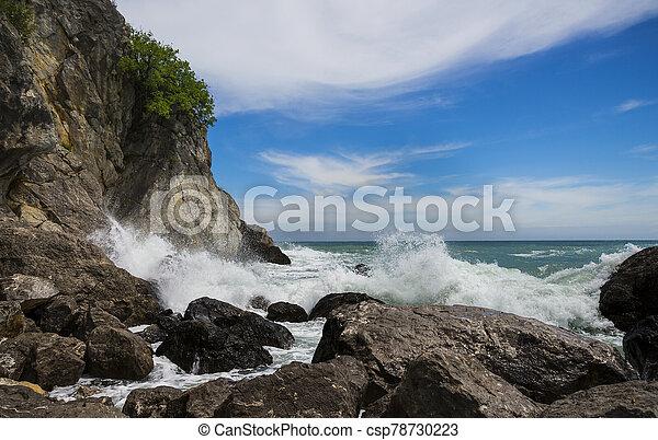 Restless Black Sea - csp78730223