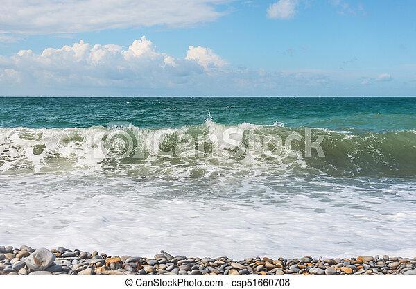 Restless Black Sea - csp51660708