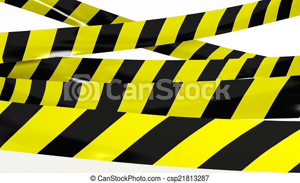 restrictive bande colors jaune noir render jaune illustration de stock recherchez. Black Bedroom Furniture Sets. Home Design Ideas