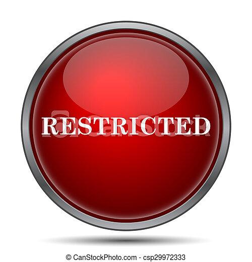 Icono restringido - csp29972333
