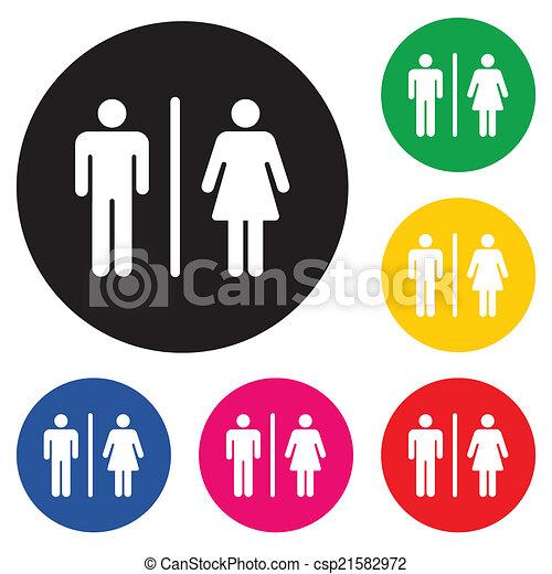 Restroom - csp21582972