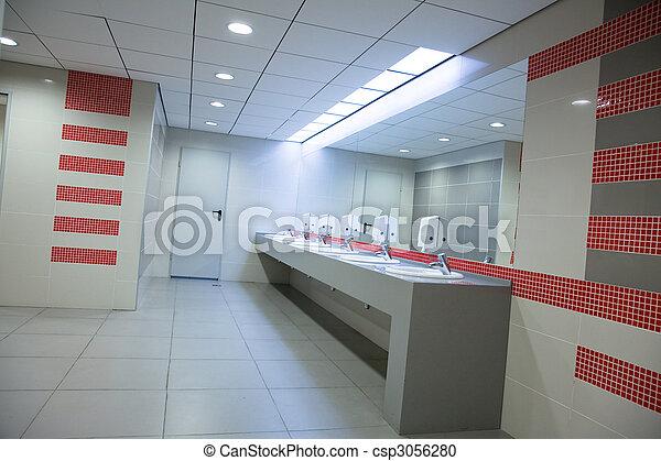 restroom - csp3056280