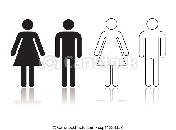 Restroom symbol - csp11233352