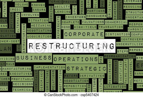 Restructuring - csp5407424
