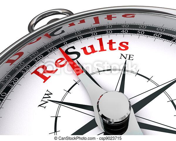 results compass conceptual image - csp9023715