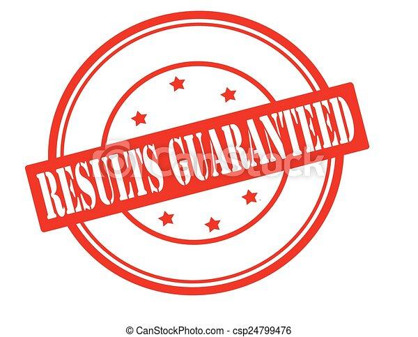Results guaranteed - csp24799476