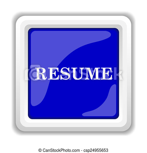 resume icon csp24955653 - Resume Icon