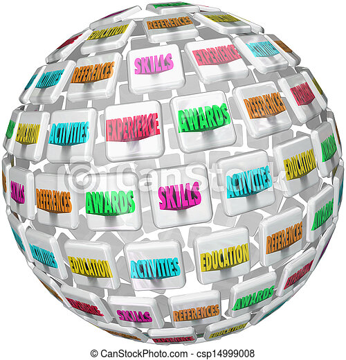 Resume Words Sphere Experience Education References - csp14999008