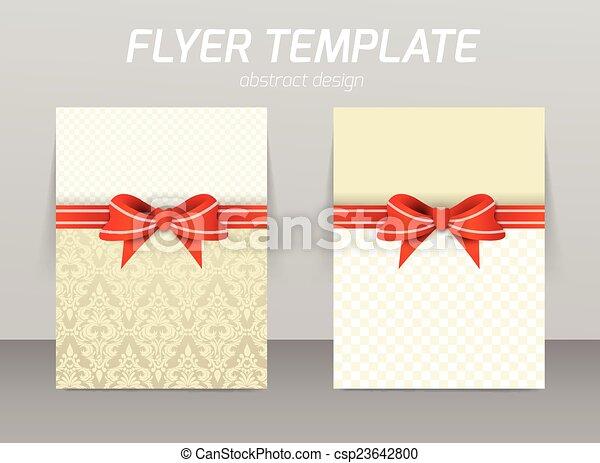 Diseño de plantilla de piloto abstracto - csp23642800