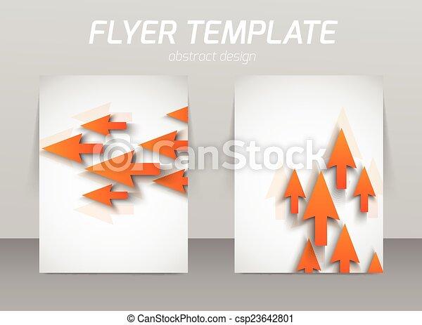 Diseño de plantilla de piloto abstracto - csp23642801