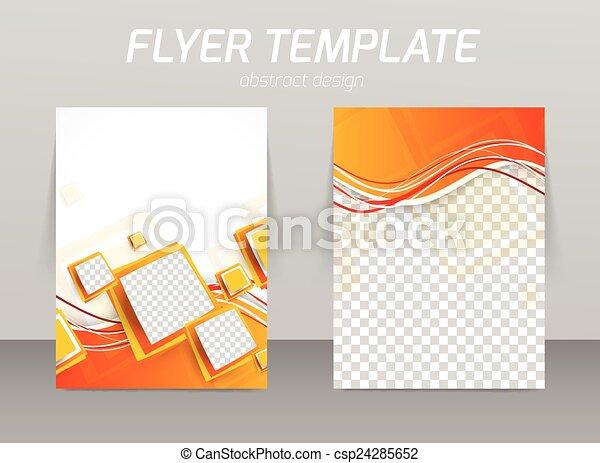 Diseño de plantilla de piloto abstracto - csp24285652