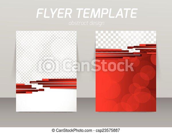 Diseño de plantilla de piloto abstracto - csp23575887