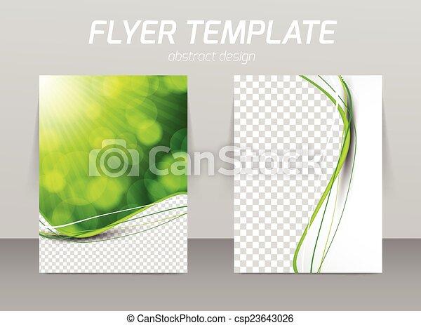 Diseño de plantilla de piloto abstracto - csp23643026