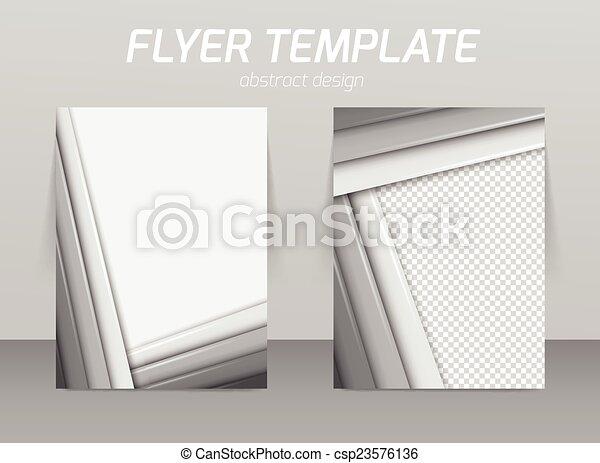 Diseño de plantilla de piloto abstracto - csp23576136