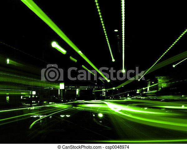 Calle abstracta - csp0048974