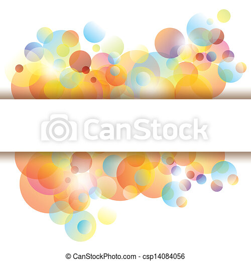 Antecedentes abstractos y coloridos - csp14084056