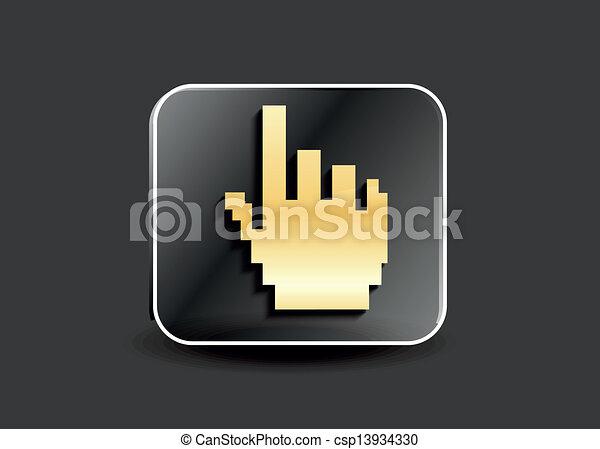 Abstrae el vector de botones - csp13934330