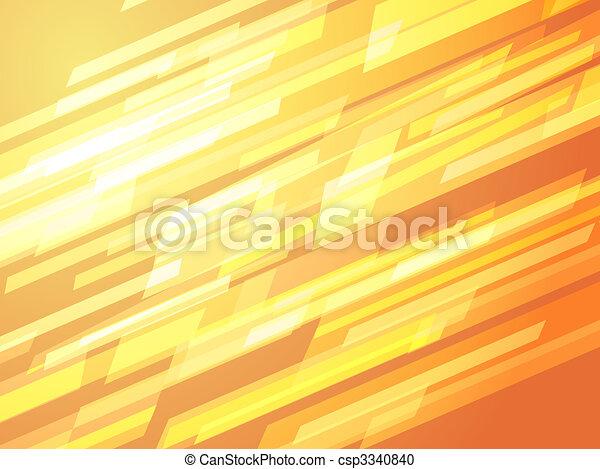 Dinamismo abstracto - csp3340840