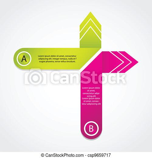 Burbuja de origami abstracto con diseño especial - csp9659717