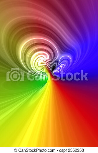 espiral abstracta 3D - csp12552358