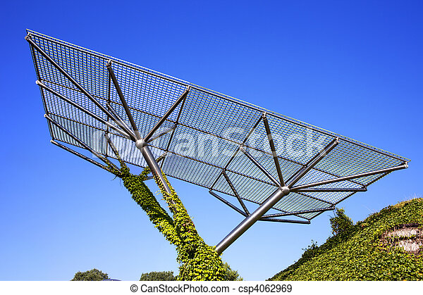 Resumen estructura de metal Varsovia jardn universidad metal