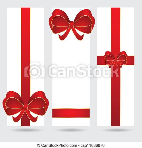 Abstrae la bandera navideña - csp11886870