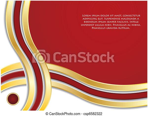 Trasfondo rojo abstracto - csp6582322