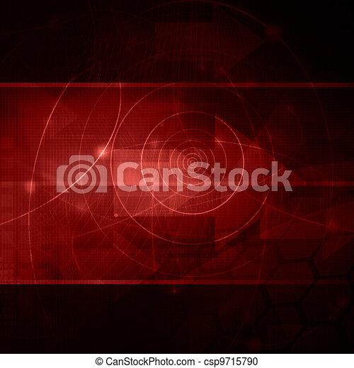 Ondas Cool abstractas - csp9715790