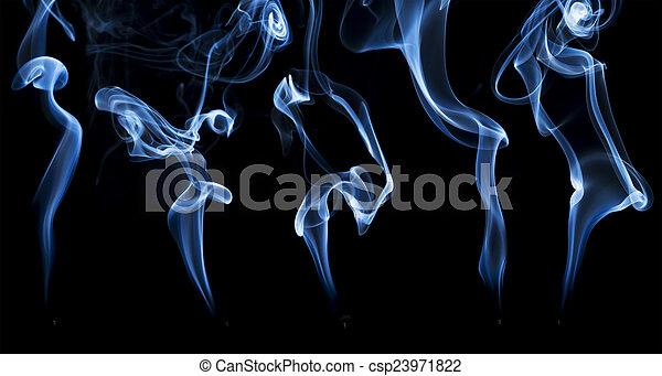 resumen, incienso, humo - csp23971822