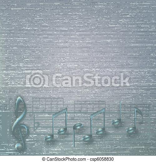 Abstracción de fondo de música - csp6058830