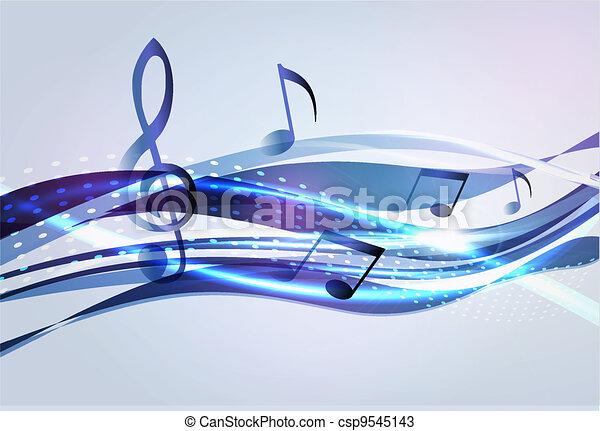 Extracción de fondo musical - csp9545143