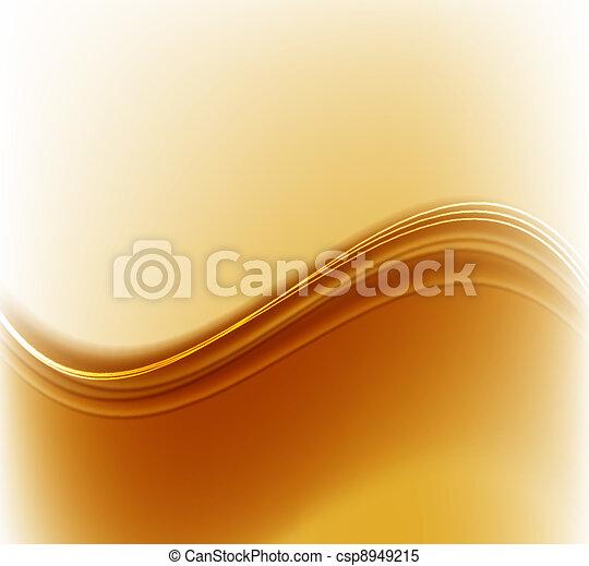 Trasfondo abstracto dorado - csp8949215