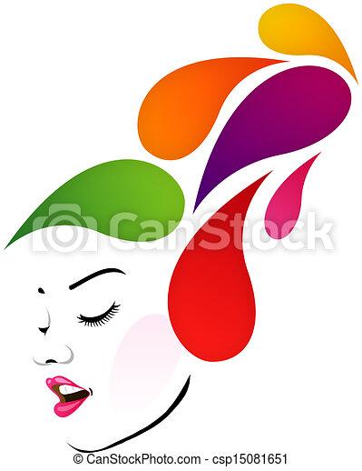 Abstracto peinado - csp15081651