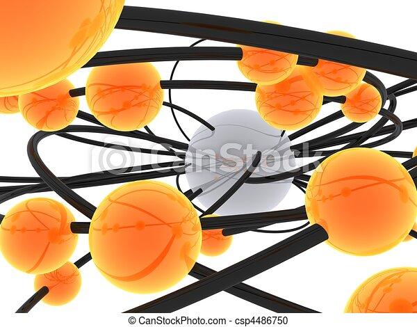 Bolas separadas - csp4486750